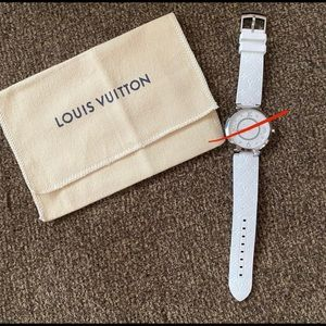 LOUIS VUITTON TAMBOUR WATCH STRAP
